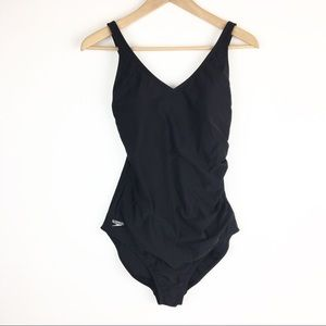 Speedo | Side Ruched One-Piece Swimsuit